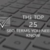 SEO terms you NEED to know, Gretchen Reese Digital