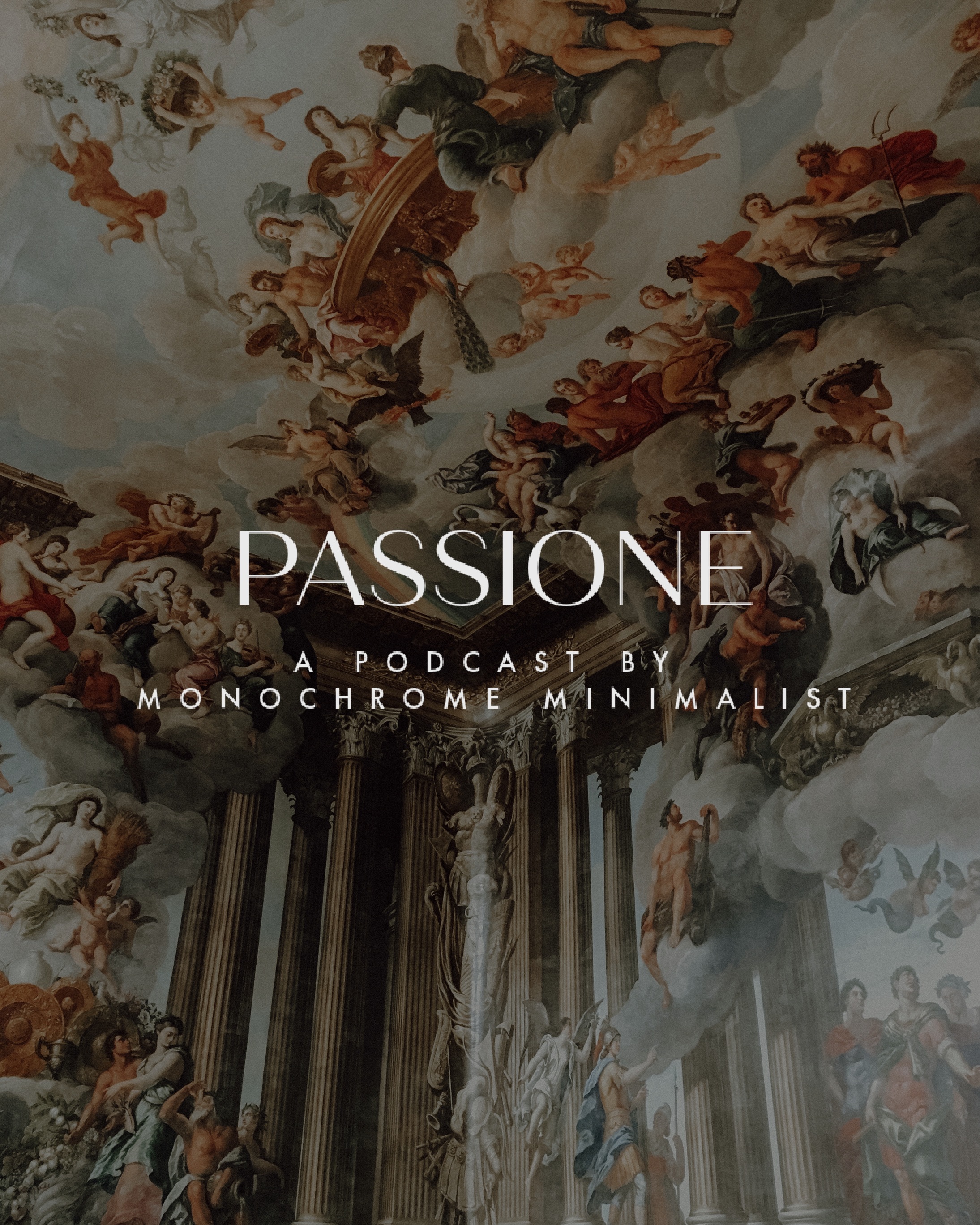 Passione the Podcast full text logo